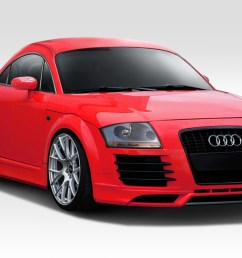 details about 00 06 audi tt pr d duraflex full body kit 113110 [ 1200 x 800 Pixel ]