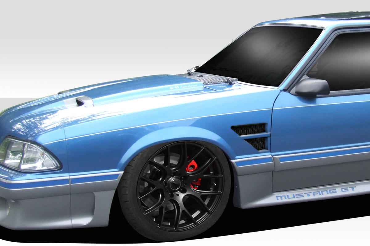 hight resolution of image is loading 87 93 ford mustang d1 duraflex body kit