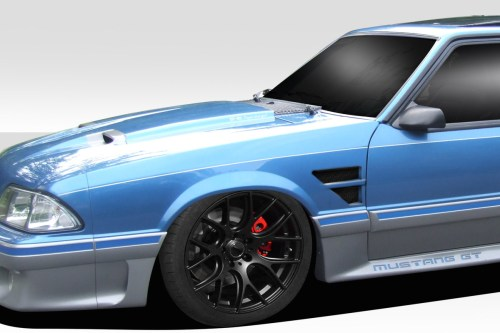 small resolution of image is loading 87 93 ford mustang d1 duraflex body kit