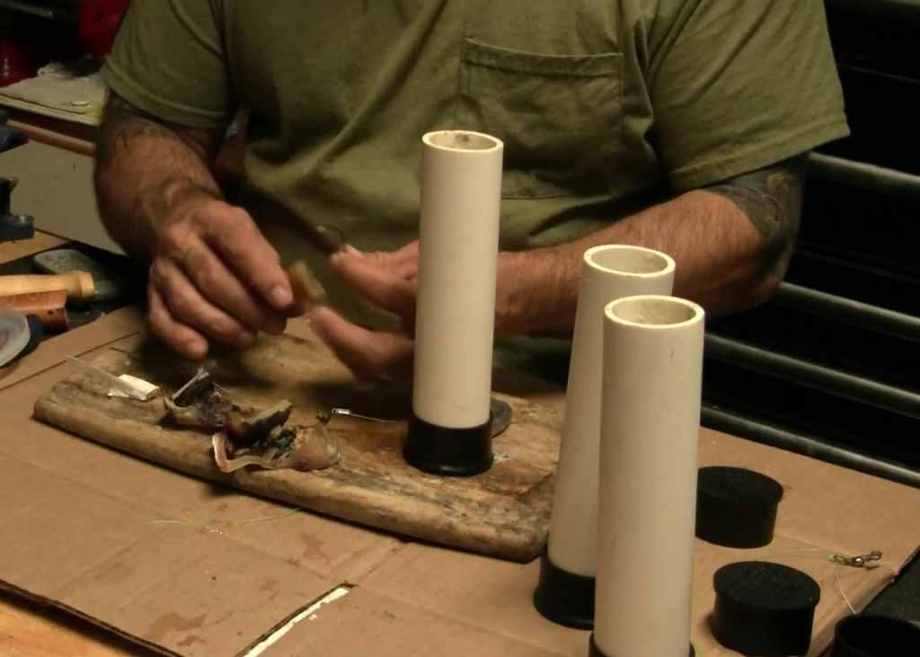 bait caster pvc pipe mold
