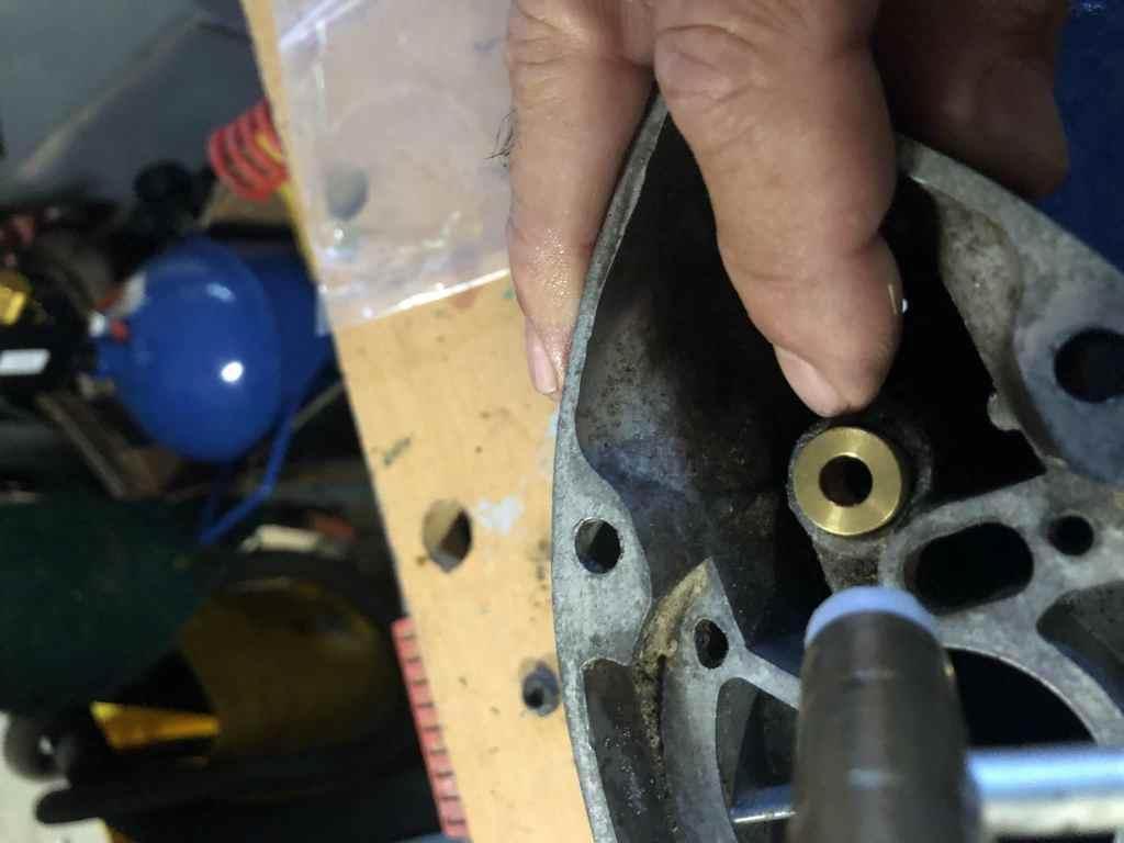 Installing Shift Rod Bushing