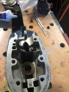 Shift Rod Installed