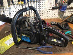 "Craftsman 20"" Chainsaw Restoration"