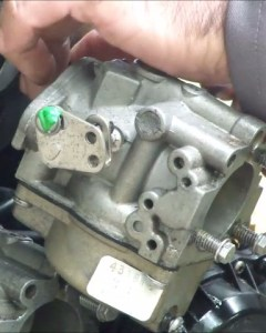 Remove Johnson Carburetor