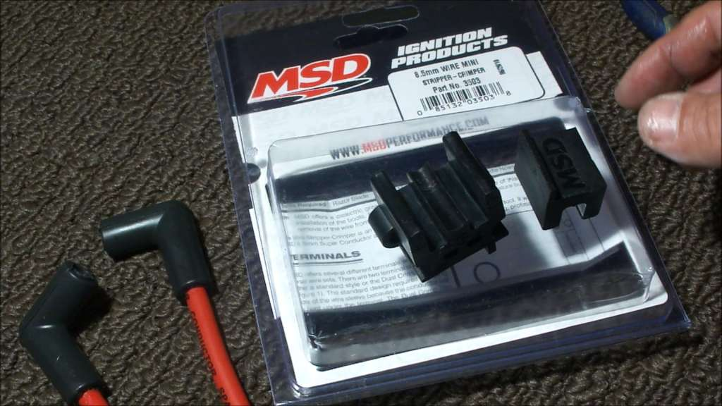 Spark Plug Wires and MSD Crimp Tool