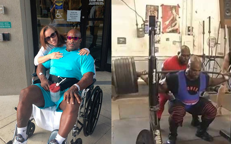 chair gym before and after kidkraft farmhouse table back surgery, ronnie coleman reveals biggest regret about 800lb squat: