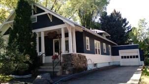 Edwin Lehrkind House, Side view