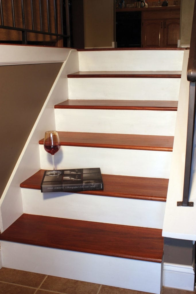 Remodel With Prefinished Stair Treads Extreme How To | Hardwood Treads And Risers | Stair Nosing | Carpet | Hardwood Flooring | Red Oak | Stair Tread