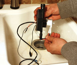 how to repair kitchen faucet sink fixtures diy installing a touch-activated - extreme ...