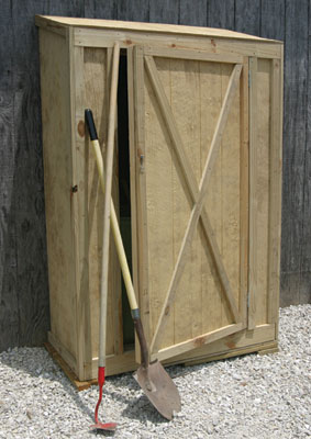 Build A Garden Tool Shed Extreme How To