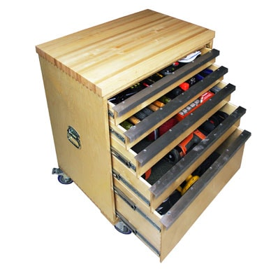 Build A Deluxe Tool Storage Cabinet