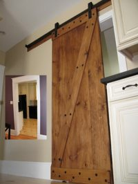 Sliding Barn Doors: How To Make A Sliding Interior Barn Door