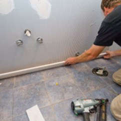 How To Install Chair Rail Wicker Swing Installing Wainscot In A Powder Bath - Extreme