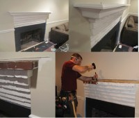 Installing a Custom Fireplace Mantel - Extreme How To