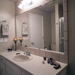 Commercial Kitchen Wall Covering Stove With Griddle Install A Tile Backsplash Matching Mirror Frame ...