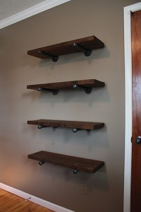 Pipe-Bracket Shelving - Extreme How To