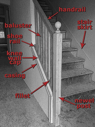 Building Basics for an Open Rail Balustrade  Extreme How To