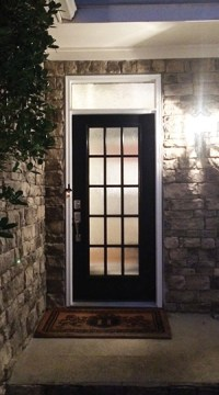 Entry Door and Transom Window Replacement