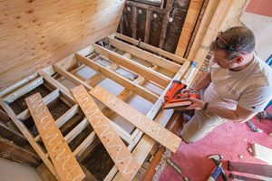 How To Reinforce Floor Joists For Plumbing