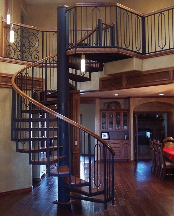 Adding A Spiral Staircase Extreme How To   Spiral Staircase Into Basement   Stair Railing   Attic Stairs   Stair Treads   Stairway   Staircase Ideas