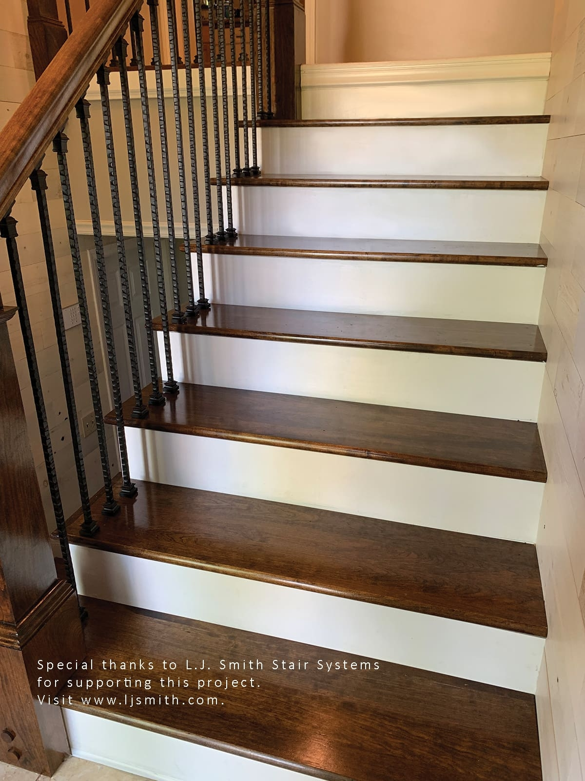 Remodeling A Staircase—Tread Riser And Stringer Replacement For | Outdoor Deck Stair Treads | Composite Deck | Stringer | Pressure Treated Wood | Stair Stringer | Metal