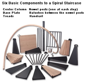How To Build A Spiral Staircase Extreme How To | Building A Spiral Staircase | Spiral Stairs | Handrail | Old Fashioned | Wood | Double Spiral