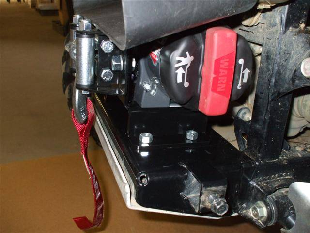 Teryx And Teryx4 Winch Mounting Plate