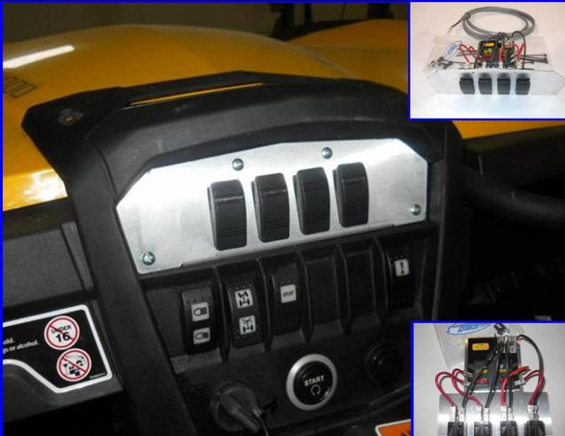 Honda Big Red Wiring Diagram Maverick And Commander Quot Command Center Quot With A Fuse Block