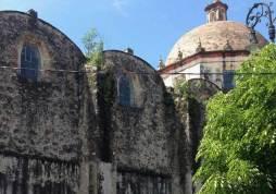 Cathedral at Cuernavaca, Morelos, Mexico