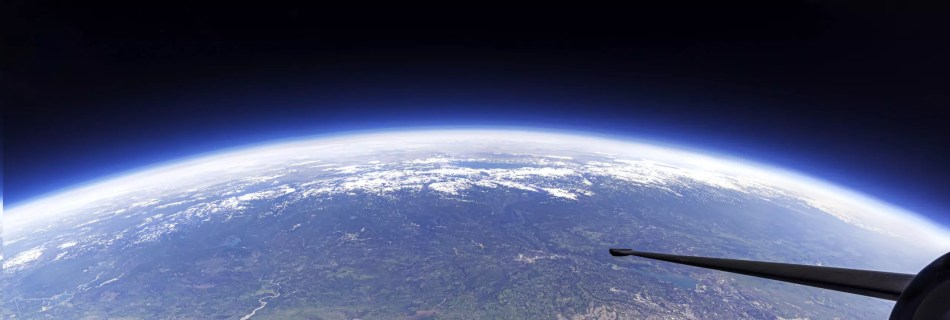high over northern california with a view of most cities to the east of sacramento