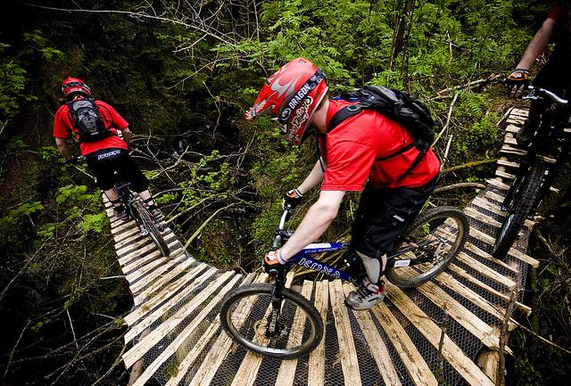 Extreme Sports Mountain Biking
