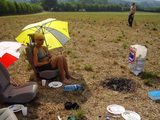 Wasteland Camping