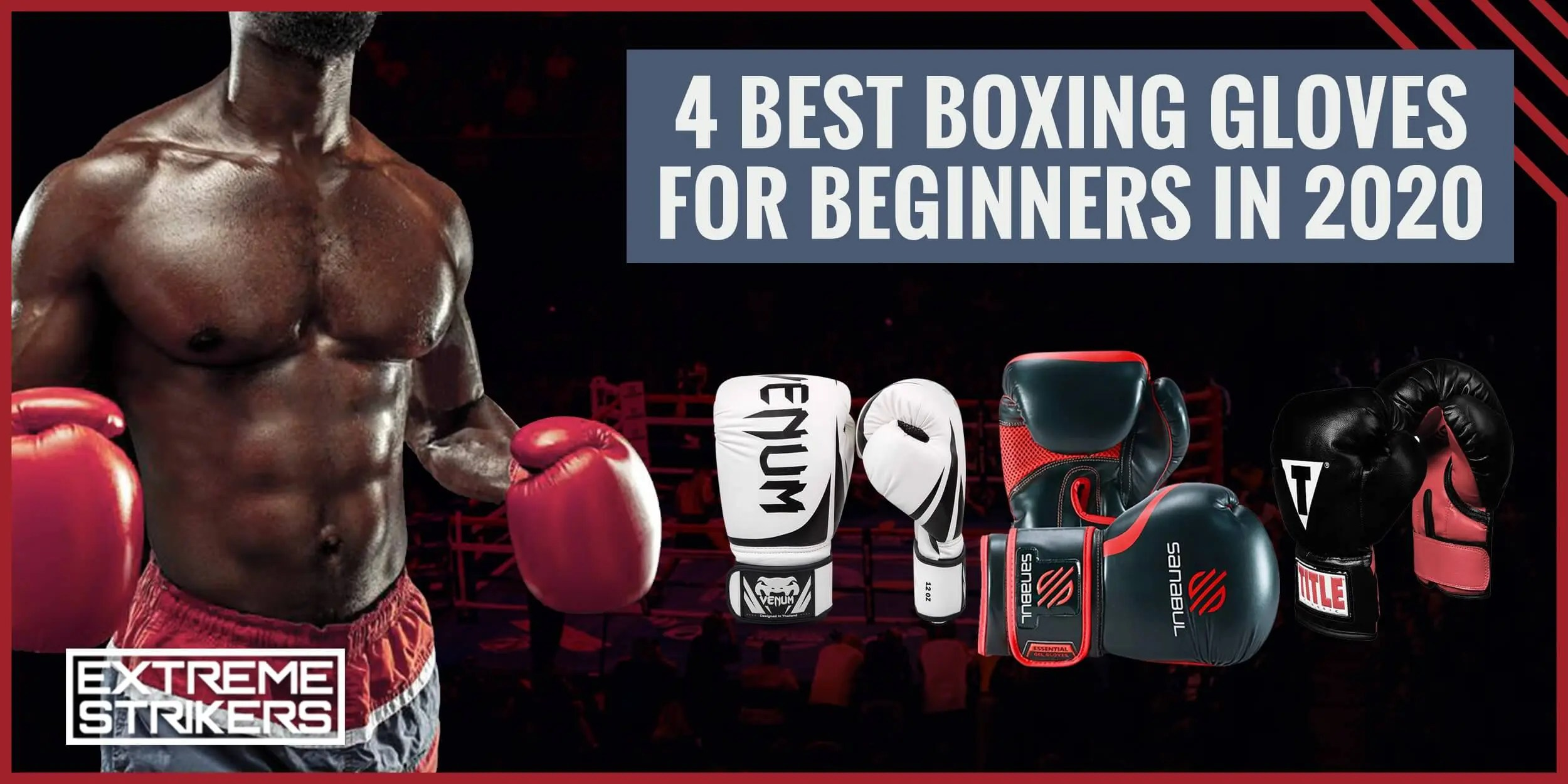 4 BEST BOXING GLOVES FOR BEGINNERS IN 2020