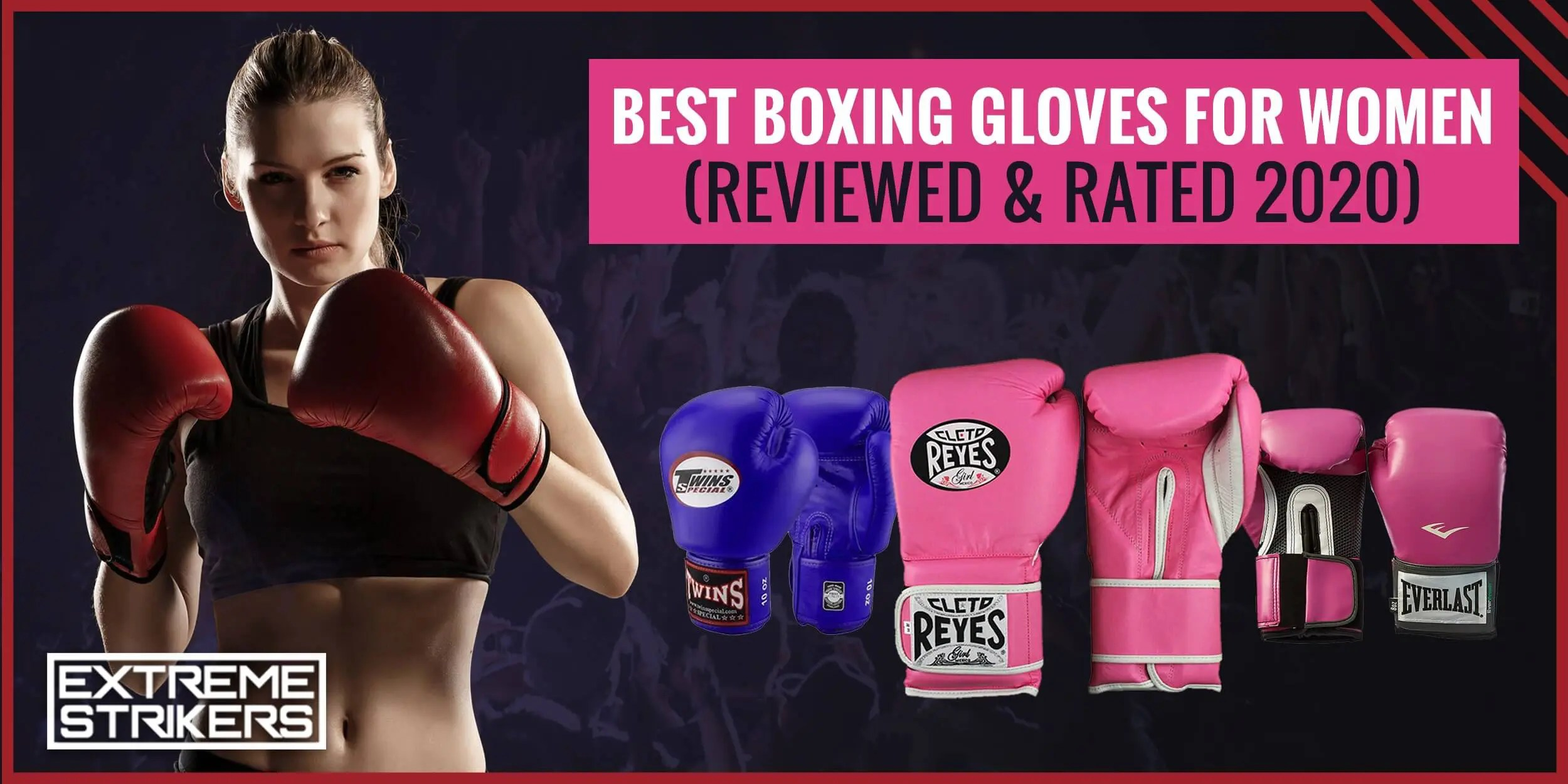 Best Boxing Gloves for Women (REVIEWED & RATED 2020)
