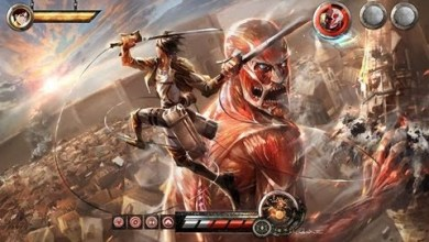 Photo of Shingeki no Kyojin recebe game de aventura para 3DS