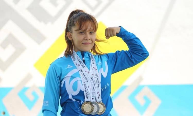 Tamaulipeca Michell Vélez lista para Mundial de Levantamiento de Pesas