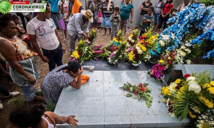 México alcanzó 918 Mil 811 infectados de Coronavirus; Muertes ascienden 91 mil 289