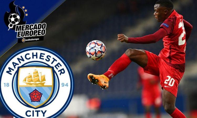 ¡Van por una joya! Manchester City apostaría por Patson Daka para reemplazo de Agüero