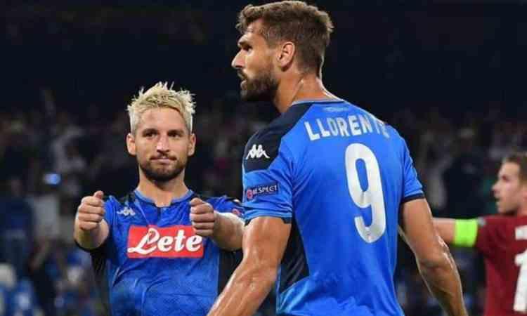 Llorente dejó al Napoli de Chucky tras jugar solo cinco partidos esta temporada