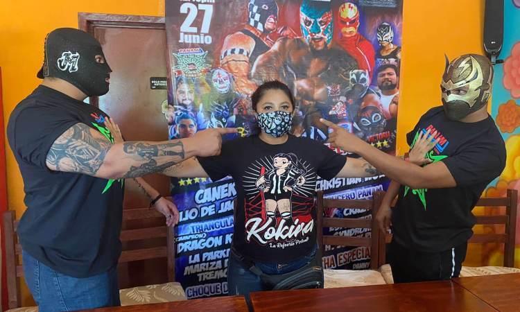 Canek Jr y el hijo de Jaque Mate se presentan en lucha libre este domingo en Victoria