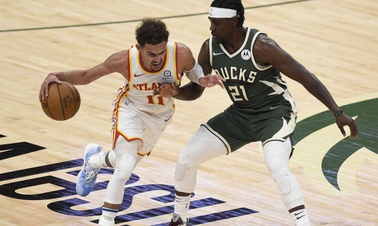 Trae Young comandó triunfo de Hawks sobre Bucks en la Final del Este de la NBA