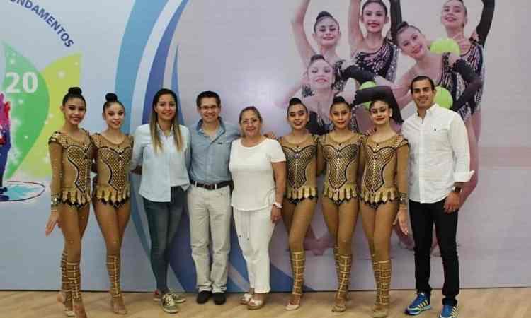 Viajan gimnastas tamaulipecas a Guatemala