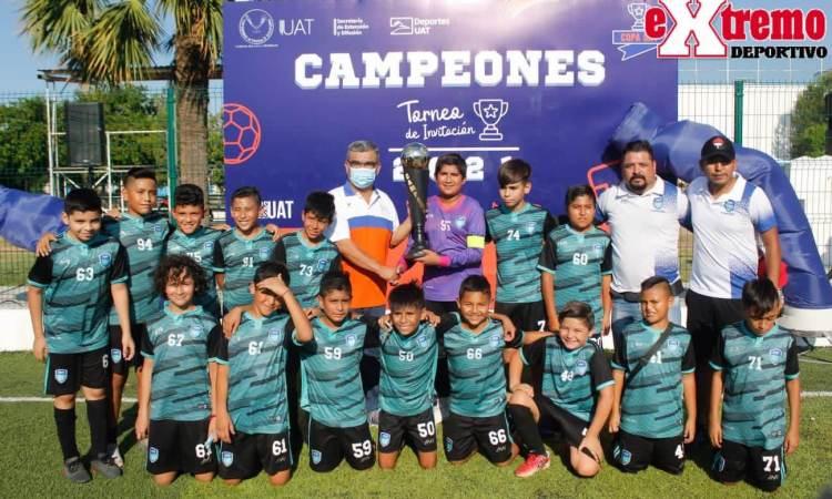 Academia Batata Rocha Campeón de Copa UAT