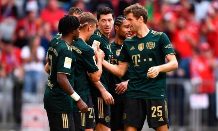 Bundesliga: Bayern Munich no tuvo piedad del Bochum y lo goleó 7-0