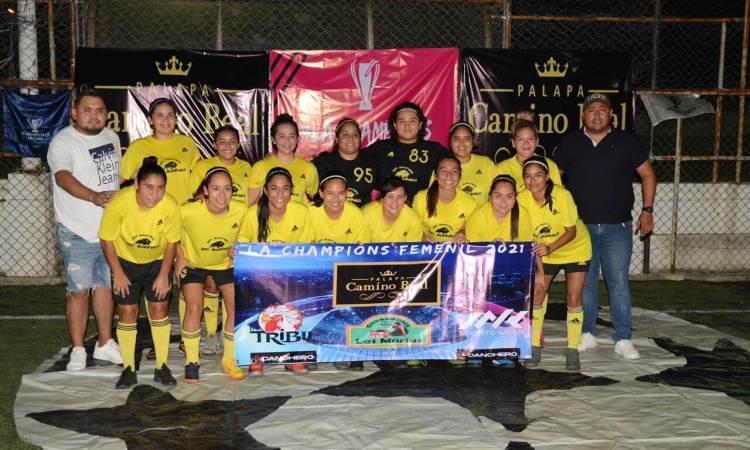 Debutan con goleada en la 'Champions' Femenil