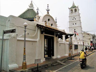 Mezquita en Chinatown, Malaca, Malasia