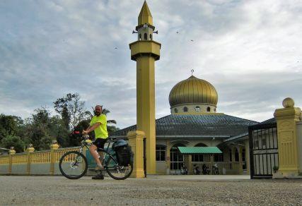 Mezquita en Malasia