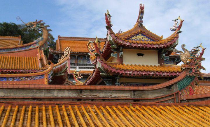 Detalle templo Kek Lok Si, Penang, Malasia