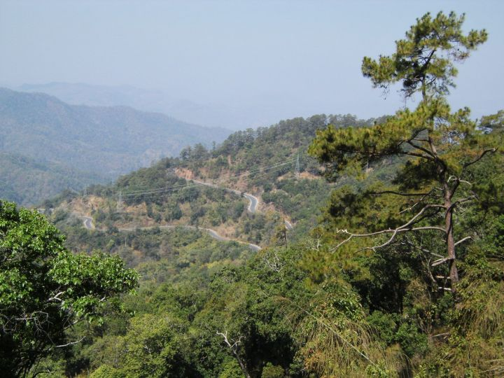 On the way to Pai