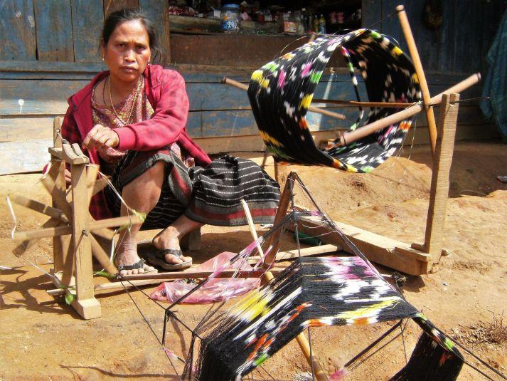 Bobinando en Laos
